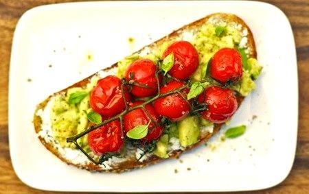 Sandwich, Cherry Tomato