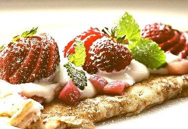Strawberry, Crepe