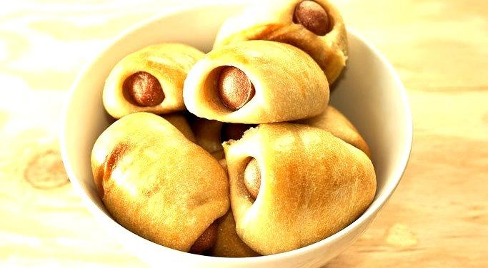 Hong Kong Style Hot Dog Buns