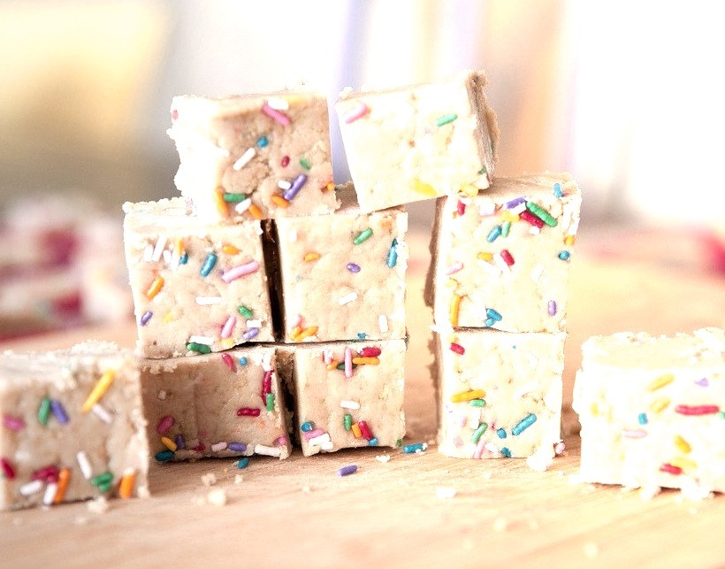 Cake Batter Squares
