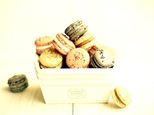 Macarons by bossacafez on Flickr.