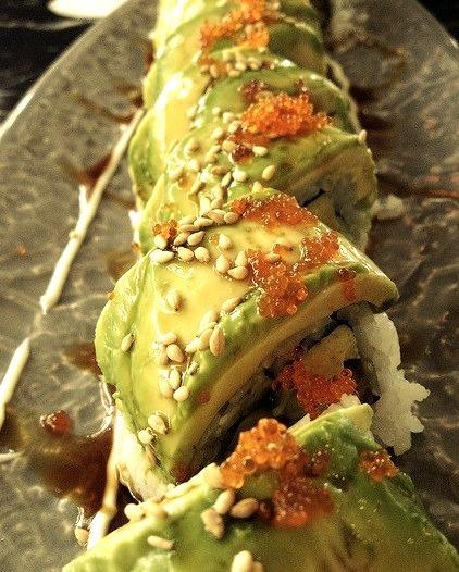 Black Dragon Sushi (Burnaby) Dragon Roll by Simply Tasty on Flickr.