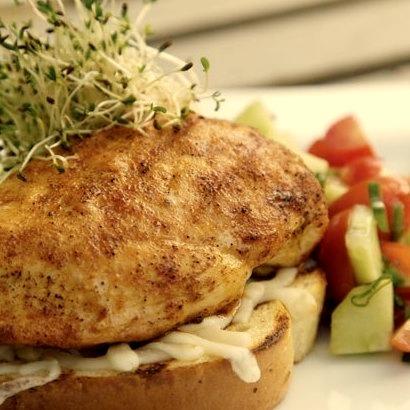Open Face Chicken Breast Sandwich