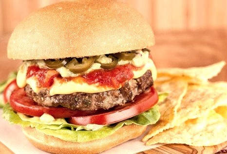 Nacho Cheese Burgers