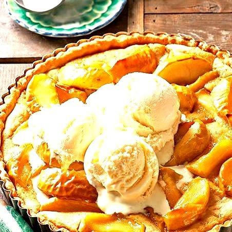 Honeycrisp Apple and Browned-Butter Tart