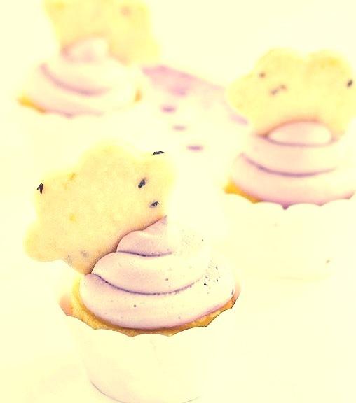 La La Lavender & Lemon Cloud Cupcakes Complete Recipes